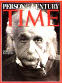 Einstein as seen by Time Magazine