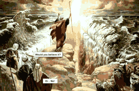 Moses Red Sea Crossing. Would You Believe It?