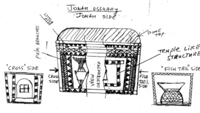 Original Sketch Jonah Ossuary