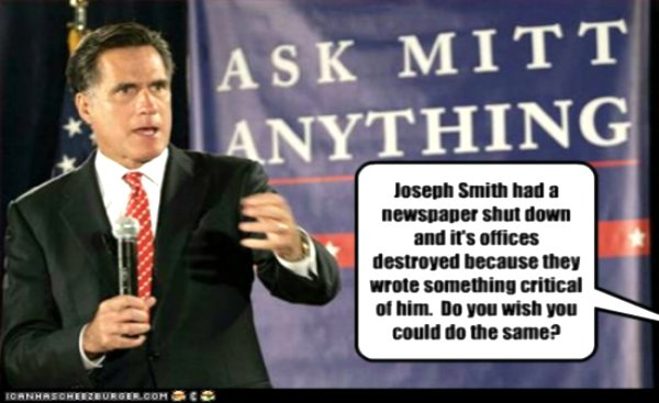Mitt Romney has to Face Questions about His Religion in the USA Elections