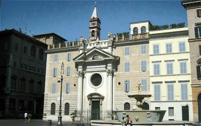 The Santa Brigida convent in Piazza Farnese run as a bed and breakfast